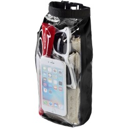 2 litre waterproof bag with phone pouch