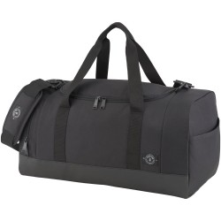 21.5 duffel bag is made of 100% recycled plastic water bottles