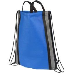 Reflective non-woven drawstring backpack