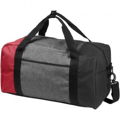 Three-way colourblock 19 duffel bag