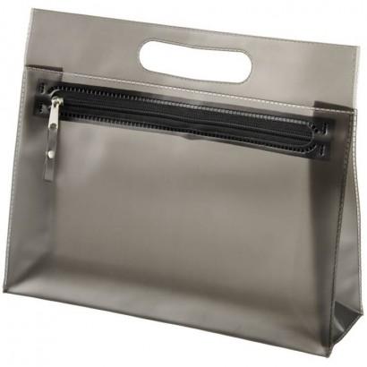 Transparent PVC toiletry bag
