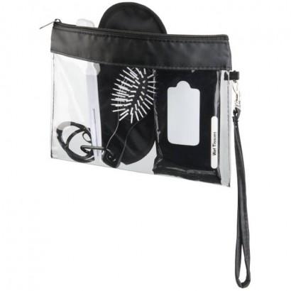 Seethrough travel pouch