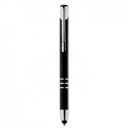 Push type touch ball pen