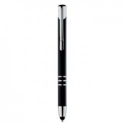 Push type touch ball pen
