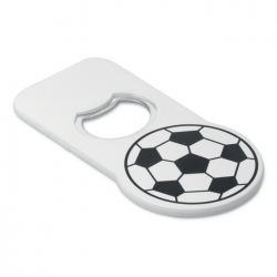 Football opener with magnet