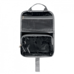 600D with PVC toiletry bag