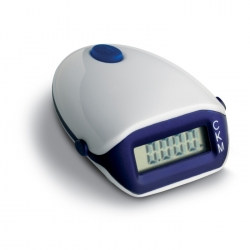 Pedometer with LCD display