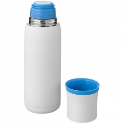 Vacuum isolating flask
