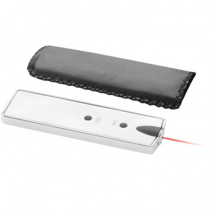 Laser pointer with led