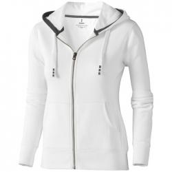 """Arora"" hooded full zip ladies sweater"