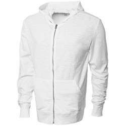 """Garner"" full zip hooded sweater"