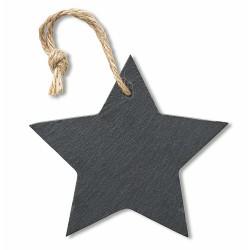 Slate xmas hanger star