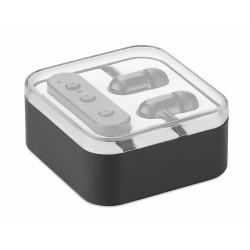 Bluetooth earphones in box
