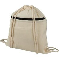 Shiny drawstring backpack
